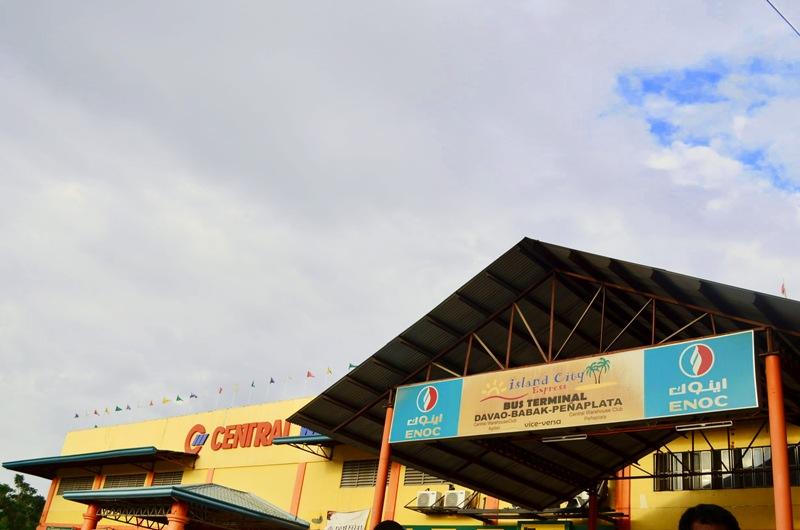 Express Bus Terminal, Peñaplata, Samal Island, Philippines