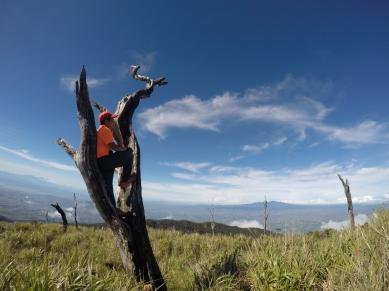 At Mount Wiji.